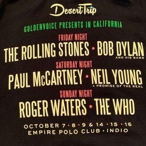 Desert Trip Jacket, bought at Weekend One. XL